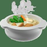 Смайлик-эмодзи 🍲 'Тарелка с горячей едой' ВК (ВКонтакте), Инстаграм, Ватсап: код смайла, значение и расшифровка