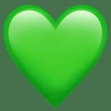 Картинки по запросу зеленое сердечко эмодзи