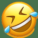 Смайлик-эмодзи 🤣 'Катается со смеху' ВК (ВКонтакте), Инстаграм, Ватсап:  код смайла, значение и расшифровка